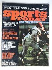 February 1971 Sports Today Football Magazine Cleveland Browns Leroy Kelly