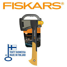 NEW FISKARS X7 640g 1.4lb Axe/Hatchet Wood Chopper/Splitter Fibreglass Handle
