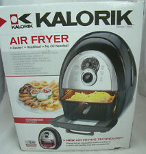 No Oil Electric Air Fryer Kalorik 4.2qt Frying Healthy Cooking Baking FT37999SS
