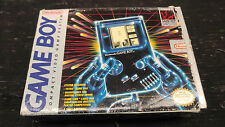 Vintage Nintendo Game Boy with Tetris and Original Box