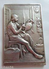 THE ARTIST / BELGIAN ART NOUVEAU MEDAL by DEVREESE. 1800? M.20a