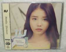 IU Monday Afternoon 2013 Taiwan CD+DVD+12P Ltd Ver.B (Japanese song)