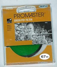 Pro 67mm Green P01 Lens Filter B&W Color Film Digital