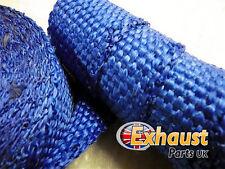 Bleu Protection Thermique Pot Échappement Haute Température Manifold Performance