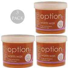 3 x HIVE OF BEAUTY WARM HONEY DEPILATORY WAX 425g leg bikini hair removal