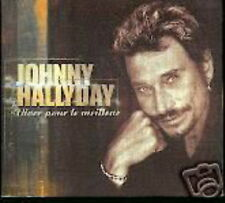 JOHNNY HALLYDAY CD DIGIPACK FRANCE VIVRE POUR LE MEILLE