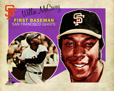WILLIE MCCOVEY Retro 1960s-Vintage-Style San Francisco Giants Premium Poster