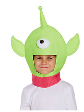 One Eyed Space Monster Alien Head Boys Girls Kids Toy Story Hat Mask Fancy Dress
