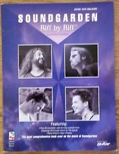 SOUNDGARDEN RIFF BY RIFF GUITAR TAB TABLATURE SONGBOOK