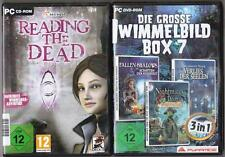 Die große Wimmelbild Box 7 + Reading The Dead Wimmelbild  Sammlung PC Spiele