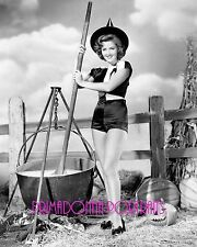 MARTHA VICKERS 8x10 Lab Glamour Photo B&W 1940s Sexy Halloween Witch & Calderon