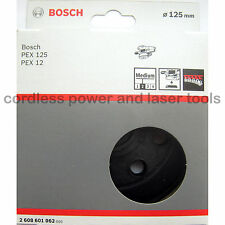 Bosch MEDIUM Sanding Backing Rubber Pad Plate for PEX 125 A 2 608 601 062