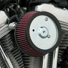 FILTRO ARIA BIG SUCKER NESS HARLEY DAVIDSON SOFTAIL BLACKLINE BOBBER AIR CLEANER