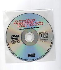 UN GRAN GIORNO PER MORIRE - A BETTER WAY TO DIE - USA 2000 - DVD