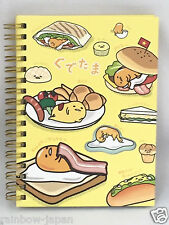 SANRIO Gudetama W Ring Notebook A Cute Characters Memo JAPAN