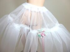 Gorgeous Barbie Doll Crinoline with beautiful design pink ribbon, Elegant Slip