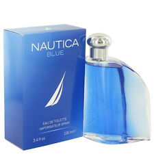 NAUTICA BLUE 3.4 Oz Eau De Toilette Spray For Men SEALED NEW BOX