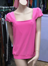 Joseph Ribkoff UK 18 BNWT Fabulous Pink Stretch Jersey Fresh Summer Camisole Top