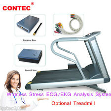 CONTEC8000S Wireless Stress ECG/EKG Analysis System Exercise stress ECG Test