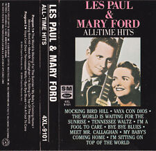 All-Time Greatest Hits: Les Paul & Mary Ford (Cassette 1992, EMI)