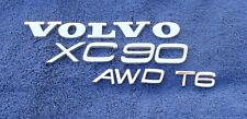 VOLVO XC90 T6 & A.W.D. REAR HATCH LETTERS EMBLEMS SET (14 PIECES)