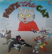 Fritz The Cat LP OST Ralph Bakshi Robert Crumb Bo Diddley Billie Holiday