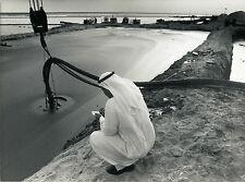 ARABIE SAOUDITE, PUIT DE PETROLE, GOLF D'ARABIE 1989