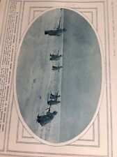 T1-7 Ephemera Ww1 1916 Picture German Snow Patrol Eastern Front