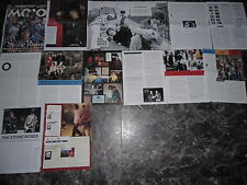 THE STONE ROSES  27 TEILE/PARTS   CLIPPINGS      !!!!09/14