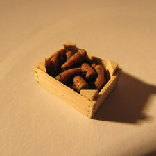 Crate of carrots ~ 24th scale ~  dollhouse miniature food