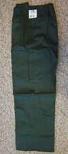 Men's Habands Ice House Green Flannel Lined Pants Size 50 x Med-NEW in plastic