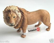 SCHLEICH WILD ANIMALS REF 14373 - MALE LION (DISCONTINUED) - NEW WITH TAGS!!