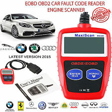 MaxiScan MS309 Scanner CAN OBD2 Fault Code Reader Equipment Diagnostic UK STOCK