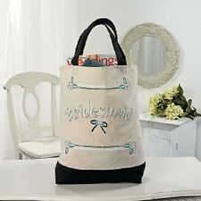 New wedding bridal party bridesmaid travel tote bag handbag favour gift