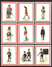CIGARETTE/TRADE/CARDS.BRITISH ARMY CARICATURES 1st(Set)
