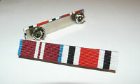 SPECIAL CONSTABULARY + QUEENS DIAMOND JUBILEE MEDAL RIBBON BAR BROOCH PIN BAR
