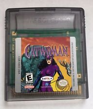 Catwoman (Nintendo Game Boy Color, 1999) Gameboy GBC Cart Only