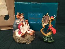 "WDCC Prince John ""Preening Prince"" & Sir Hiss ""Sycophantic Serpent"" New in Box"
