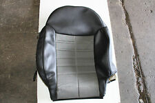 2012-2014 FIAT 500 SPORT FRONT PASSENGER RIGHT BACK LEATHER SEAT COVER 1733