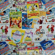 BonEful Fabric FQ Cotton Quilt Disney Movie Comic B&W Block 101 Dalamatian Dog L