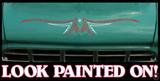 2x  Custom hot rod / Rat Rod Pinstripe Centre decal sticker #1