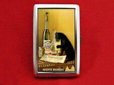 ABSINTHE VINTAGE AD CAT LIQUOR CIGARETTE ID IPOD CASE