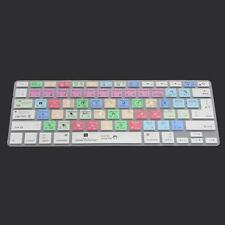 Universal Photoshop Shortcuts Keyboard Cover Skin for Macbook Pro Air 13/15/17''