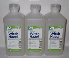 Quality Choice Witch Hazel Astringent 16oz Bottle -3 Pack
