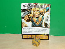 DICE MASTERS DC Justice League Rare - 111 Booster Gold