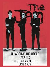"The jam all around the world 16"" x 12"" Photo Repro Promo Poster"