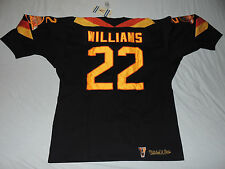 NWT AUTHENTIC MITCHELL AND NESS TIGER WILLIAMS VANCOUVER CANUCKS JERSEY 56 3XL