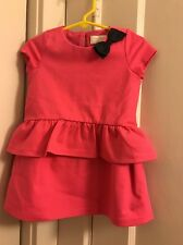 Baby Girl 18M Pink Kate Spade Bow Dress New NWT