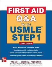 NEW First Aid Q&A for the USMLE Step 1 Third Edition FREE SHIPPING
