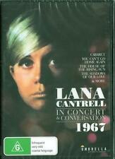 LANA CANTRELL IN CONCERT AND CONVERSATION 1967 - NEW DVD - FREE LOCAL POST